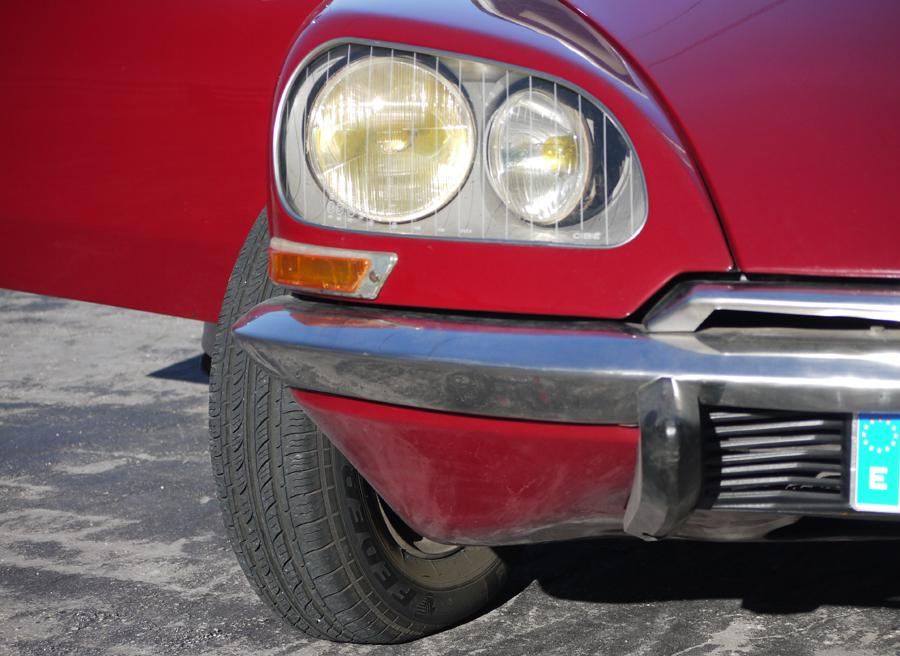 Faro direccional, Citroën DS, Rubén Fidalgo