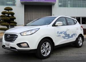 Hyundai ix35 Fuel Cell, con una autonomía de 594 km.