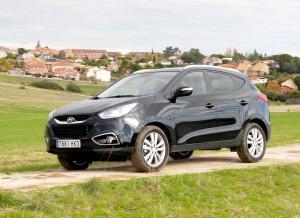 Hyundai ix35, dinámica