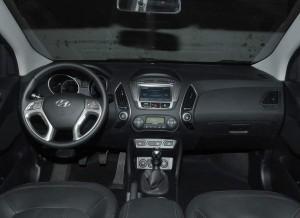 Hyundai ix35, salpicadero