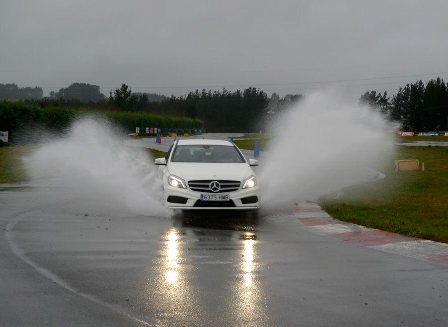 Prueba Mercedes Clase A 180 CDi AMG 109 CV, A Pastoriza, Rubén Fidalgo