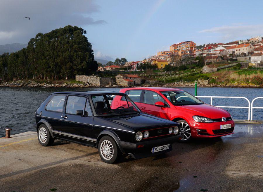 Prueba VW Golf VII 2.0 TDi 150 CV, Poio, Rubén Fidalgo