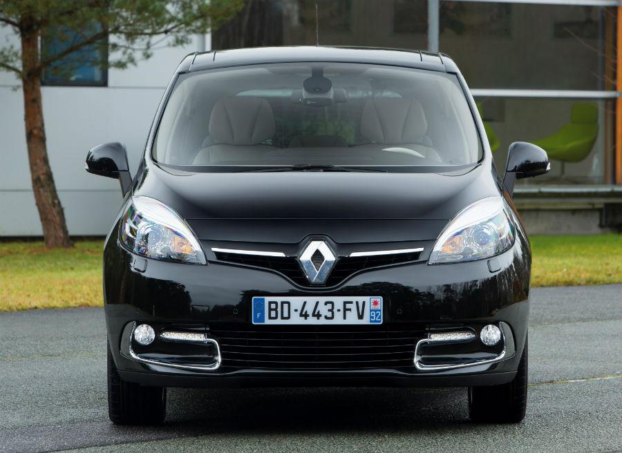El Renault Scénic incorpora un nuevo frontal.