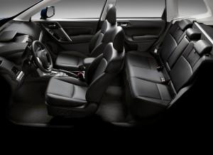 Subaru Forester, asientos