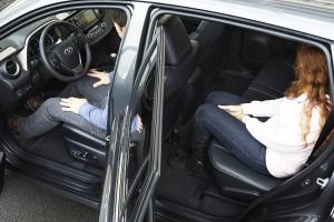 Toyota RAV4, asientos