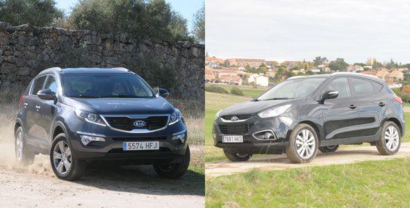 Kia Sportage vs. Hyundai ix35