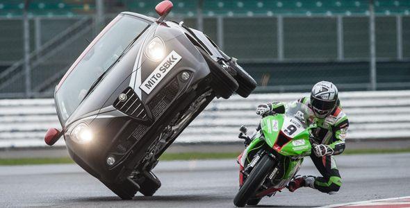 Alfa Romeo Mito Quadrifoglio Verde SBK Limited Edition: descúbrelo…¡a dos ruedas!