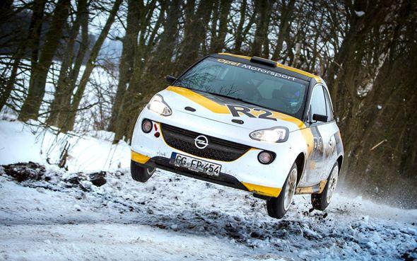 Opel Adam R2 para rallyes