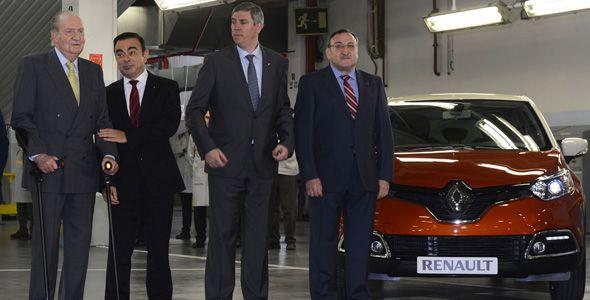 Renault Captur: el Rey inaugura su línea de producción