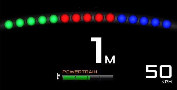 McLaren P1: instrumentación inspirada en la Fórmula 1