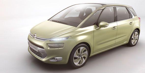 Citroën Technospace, el sustituto del Picasso
