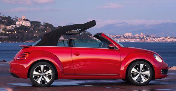 Nuevo Volkswagen Beetle Cabrio, desde 23.970 euros