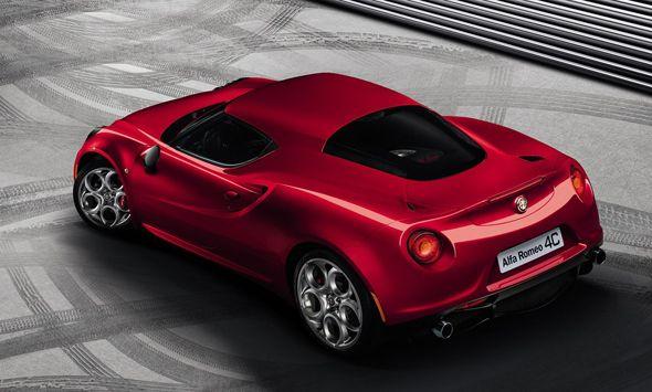 El Alfa Romeo 4C, en el Salón de Ginebra 2013
