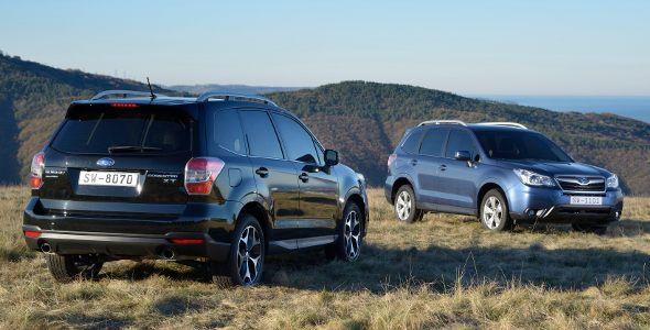 Al volante del nuevo Subaru Forester