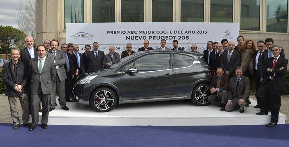 El Peugeot 208 recibe el Premio al Mejor Coche del Año 2013 de ABC