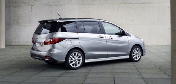 Mazda introduce mejoras en el monovolumen Mazda5