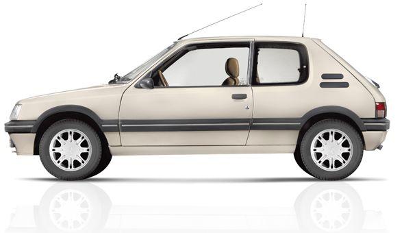 El Peugeot 205 cumple 30 años