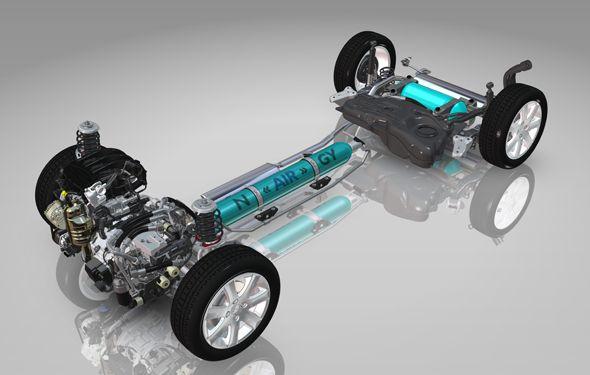 Citroën C3 Hybrid Air: motor híbrido de gasolina y aire comprimido en Ginebra