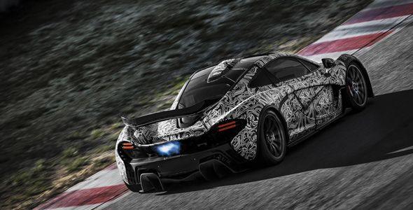 McLaren P1: motor híbrido con 916 CV