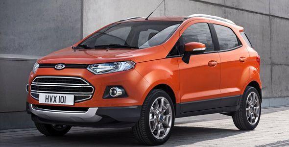 Ford EcoSport, presentado en el `Mobile World Congress´ de Barcelona