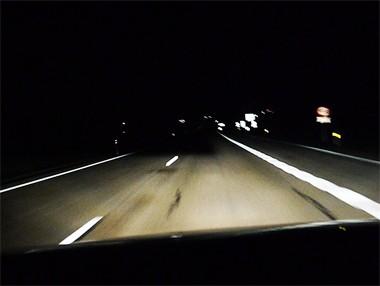 Asistente de luz de carretera del VW Golf, en vídeo