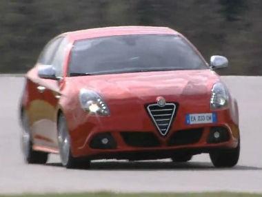 Alfa Romeo Giulietta Progression, comportamiento dinámico