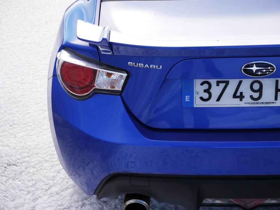 Prueba Subaru BRZ, Sanabria, Rubén Fidalgo