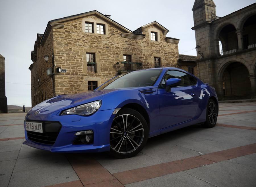 Prueba Subaru BRZ, Puebla de Sanabria, Rubén Fidalgo