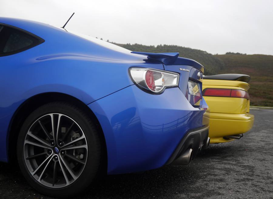 Prueba Subaru BRZ vs Subaru SVX, Baldaio, Rubén Fidalgo