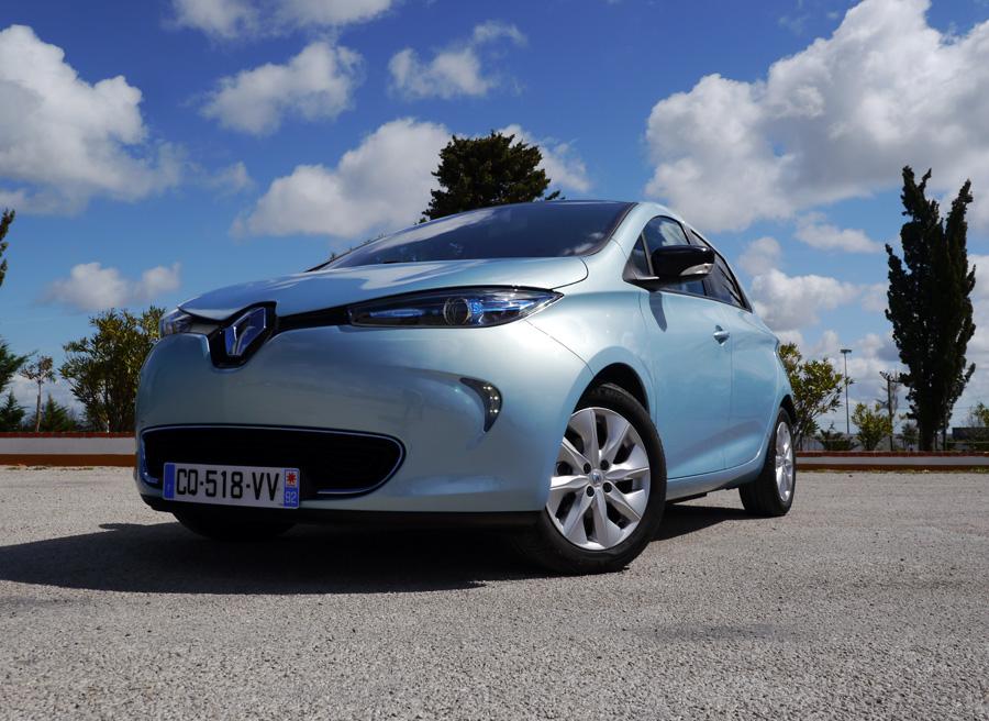 Prueba presentación Renault Zoe, Lisboa, Rubén Fidalgo