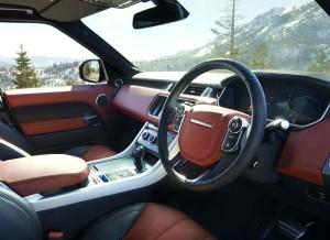 El interior del nuevo Range Rover Sport cuenta con multitud de opciones de personalización.