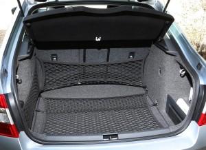 La capacidad del maletero del Skoda Octavia es de 590 litros.