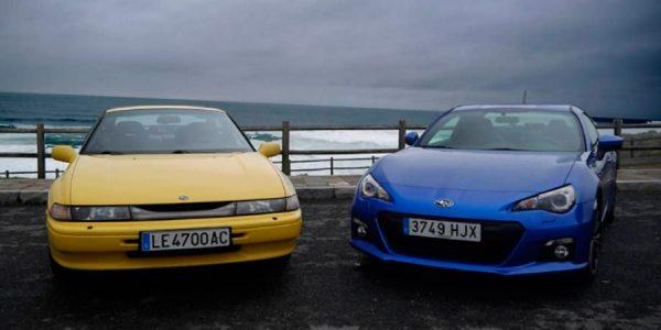 Subaru BRZ y Subaru SVX, frente a frente en vídeo