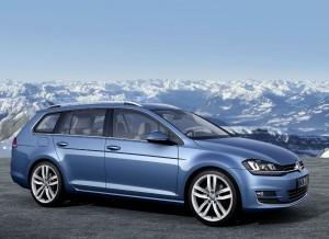 El nuevo Volkswagen Golf Variant se presenta en el Salón de Ginebra.