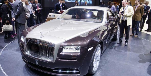 El Rolls-Royce Wraith, desvelado en Ginebra
