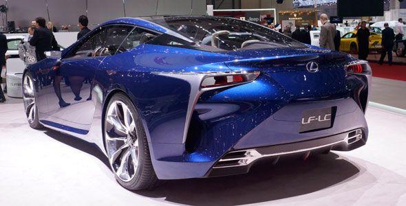 ¿Qué presenta Lexus en el Salón del Automóvil de Ginebra?