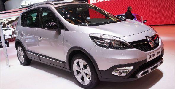 Renault Scénic XMOD, en el Salón de Ginebra