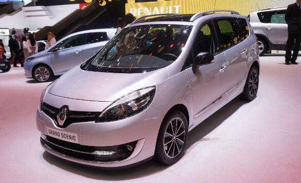 Renault Scénic y el Gran Scénic, renovados para Ginebra