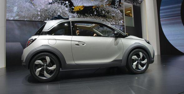Opel Adam Rocks, listo en Ginebra