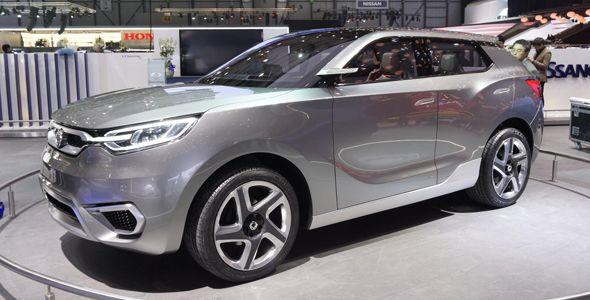SsangYong SIV-1 concept, el futuro de la marca en el Salón de Ginebra 2013