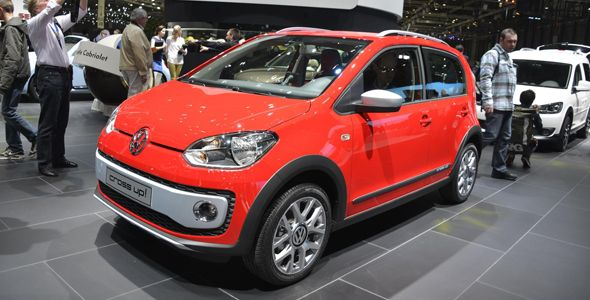 Volkswagen Cross Up!, el urbano aventurero