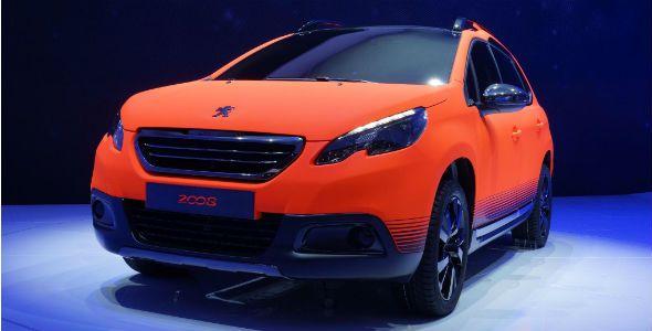Peugeot 2008 y todas sus novedades en el Salón de Ginebra 2013