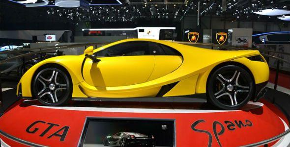 GTA Spano: 900 caballos españoles en Ginebra