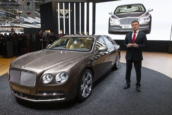 Bentley Flying Spur, completamente nuevo en el Salón de Ginebra