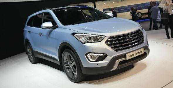 El nuevo Hyundai Grand Santa Fe 7 plazas llega al Salón de Ginebra