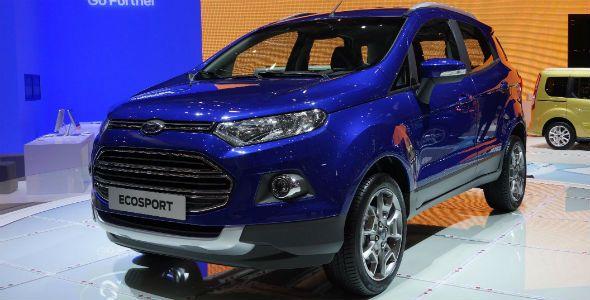 La nueva gama Ford Tourneo, Ford Tourneo Courier y Ford Ecosport, en el Salón de Ginebra