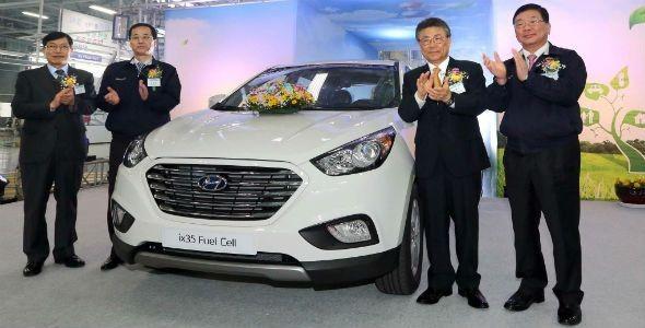 Hyundai ix35 Fuel Cell, en el Salón de Ginebra