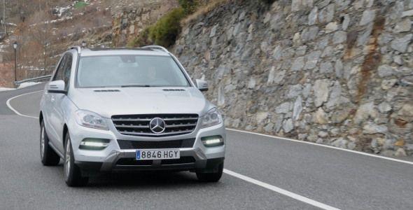 Más de 1.000 km al volante del Mercedes ML