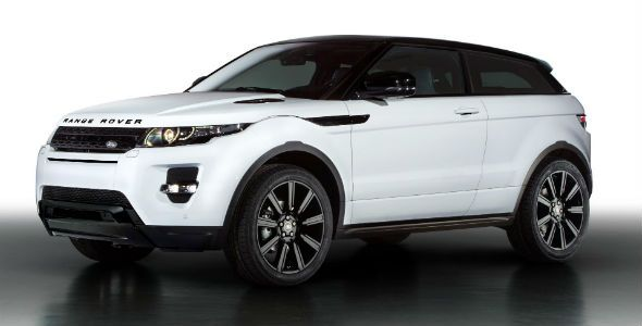 Range Rover Evoque Black Design Pack, en Ginebra