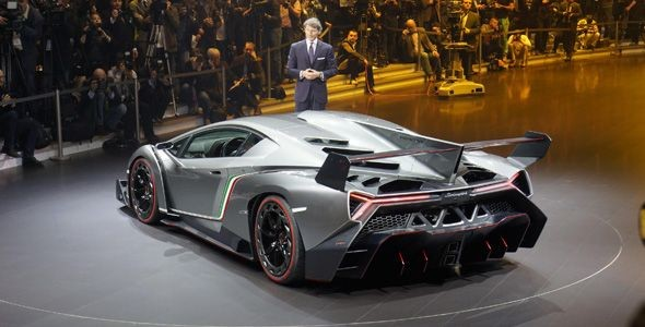 Lamborghini Veneno, 50 años de la marca en Ginebra
